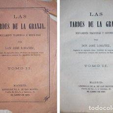 Libros antiguos: DUCRAY-DUMINIL, FRANÇOIS. LAS TARDES DE LA GRANJA. TOMO II (DE CUATRO). (1881).. Lote 168697816