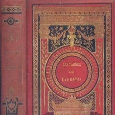 Libros antiguos: DUCRAY-DUMINIL, FRANÇOIS. LAS TARDES DE LA GRANJA Ó LECCIONES DEL PADRE. 1890.. Lote 168698228