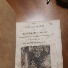 Libros antiguos: SEASONS 1818 JAMES THOMSOM. Lote 168737524