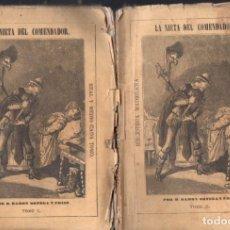Libros antiguos: RAMON ORTEGA Y FRÍAS . LA NIETA DEL COMENDADOR - DOS TOMOS (BIBL MADRILEÑA 1872). Lote 168744468