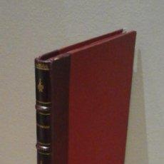 Libros antiguos: ASSAIG SOBRE ALGUNS EPISODIS HISTÒRICS DELS MOVIMENTS SOCIALS A BARCELONA EN EL SEGLE XIX. MANUEL RE. Lote 168799636