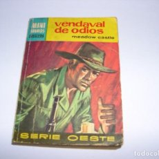 Libros antiguos: MINI LIBROS BRUGUERA VENDAVAL DE ODIOS. Lote 168807164