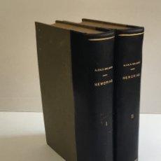Libros antiguos: MEMORIAS DE D. ANTONIO ALCALÁ GALIANO. - ALCALÁ GALIANO, ANTONIO. . Lote 168827896