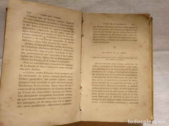 Libros antiguos: PEDRO ANTONIO DE ALARCÓN. COSAS QUE FUERON. AÑO 1882 - Foto 2 - 168839036