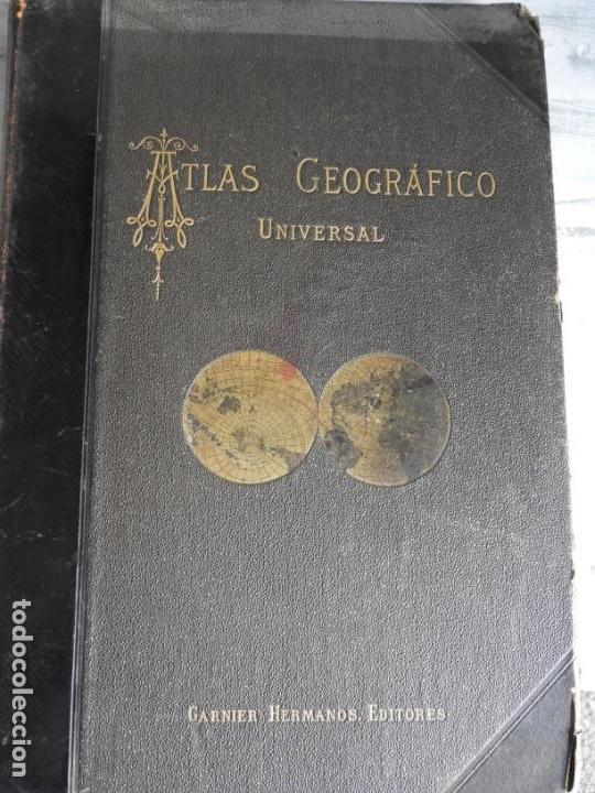 Libros antiguos: ATLAS GEOGRAFICO UNIVERSAL DE GARNIER HERMANOS 1888 - Foto 14 - 168859072