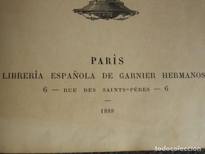 Libros antiguos: ATLAS GEOGRAFICO UNIVERSAL DE GARNIER HERMANOS 1888 - Foto 3 - 168859072