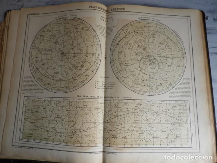 Libros antiguos: ATLAS GEOGRAFICO UNIVERSAL DE GARNIER HERMANOS 1888 - Foto 6 - 168859072