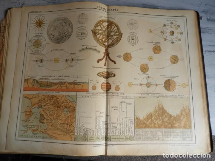Libros antiguos: ATLAS GEOGRAFICO UNIVERSAL DE GARNIER HERMANOS 1888 - Foto 7 - 168859072