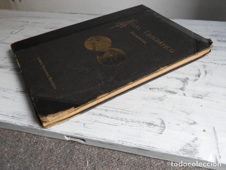 Libros antiguos: ATLAS GEOGRAFICO UNIVERSAL DE GARNIER HERMANOS 1888 - Foto 13 - 168859072