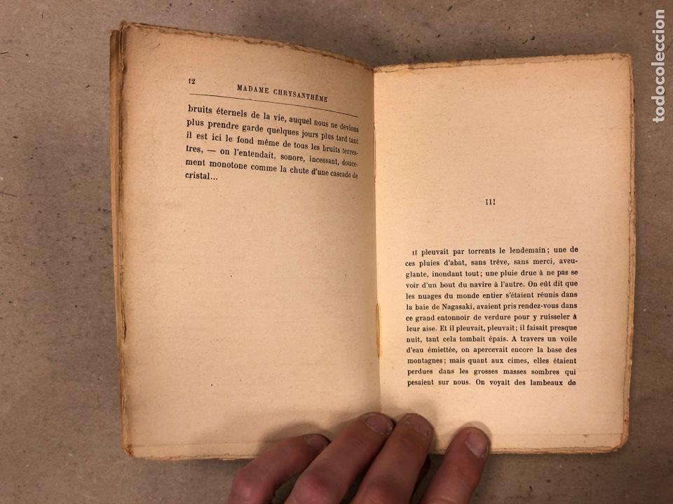 Libros antiguos: MADAME CHRYSANTHÈME. PIERRE LOTI. CALMAMN-LÉVY, EDITEURS 1923. EN FRANCÉS. 304 PÁGINAS. - Foto 4 - 169114625