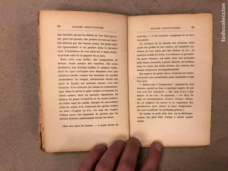 Libros antiguos: MADAME CHRYSANTHÈME. PIERRE LOTI. CALMAMN-LÉVY, EDITEURS 1923. EN FRANCÉS. 304 PÁGINAS. - Foto 10 - 169114625