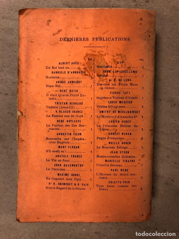 Libros antiguos: MADAME CHRYSANTHÈME. PIERRE LOTI. CALMAMN-LÉVY, EDITEURS 1923. EN FRANCÉS. 304 PÁGINAS. - Foto 12 - 169114625