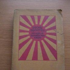 Libros antiguos: LIBRO, DEFENSA PERSONAL JAPONESA, ESCRITO EN ALEMAN. Lote 169143308