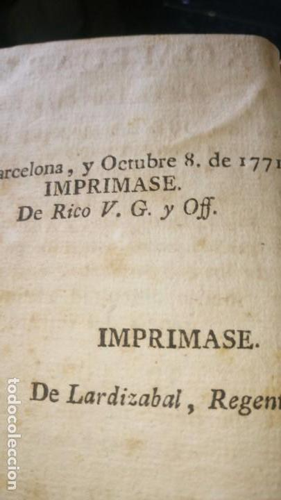 Libros antiguos: ~~~~ PROMTUARIO TRILINGUE, VOCES PARA EL COMERCIO POLITICO Y SOCIABLE, 1771 IMPRENTA, PERGAMINO ~~~~ - Foto 5 - 169215128