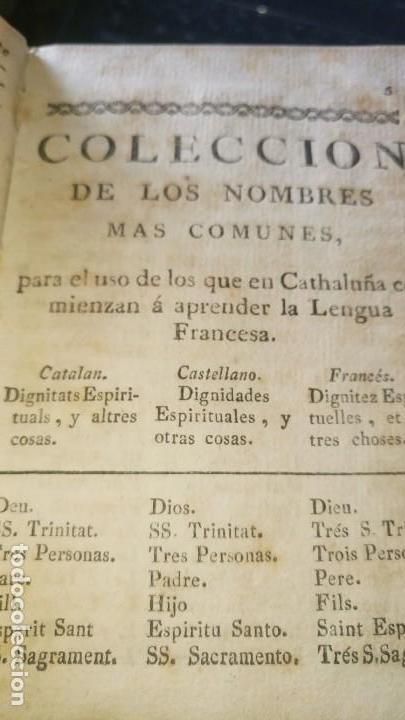 Libros antiguos: ~~~~ PROMTUARIO TRILINGUE, VOCES PARA EL COMERCIO POLITICO Y SOCIABLE, 1771 IMPRENTA, PERGAMINO ~~~~ - Foto 7 - 169215128