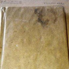 Libros antiguos: ~~~~ PROMTUARIO TRILINGUE, VOCES PARA EL COMERCIO POLITICO Y SOCIABLE, 1771 IMPRENTA, PERGAMINO ~~~~. Lote 169215128