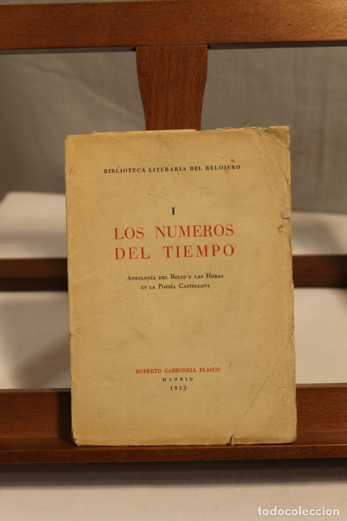 BIBILOTECA LITERARIA DEL RELOJERO, CINCO VOLÚMENES (Libros Antiguos, Raros y Curiosos - Bellas artes, ocio y coleccionismo - Otros)