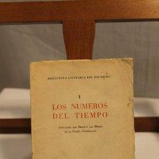 Libros antiguos: BIBILOTECA LITERARIA DEL RELOJERO, CINCO VOLÚMENES. Lote 169238268