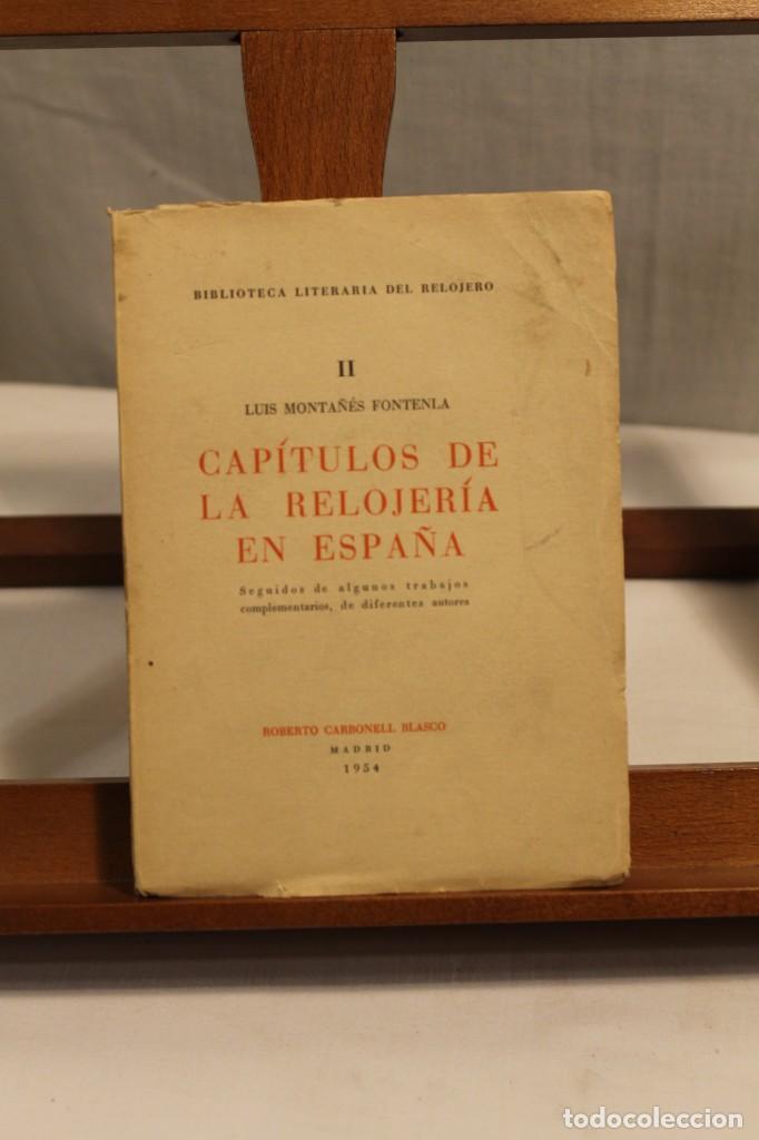 Libros antiguos: BIBILOTECA LITERARIA DEL RELOJERO, CINCO VOLÚMENES - Foto 3 - 169238268