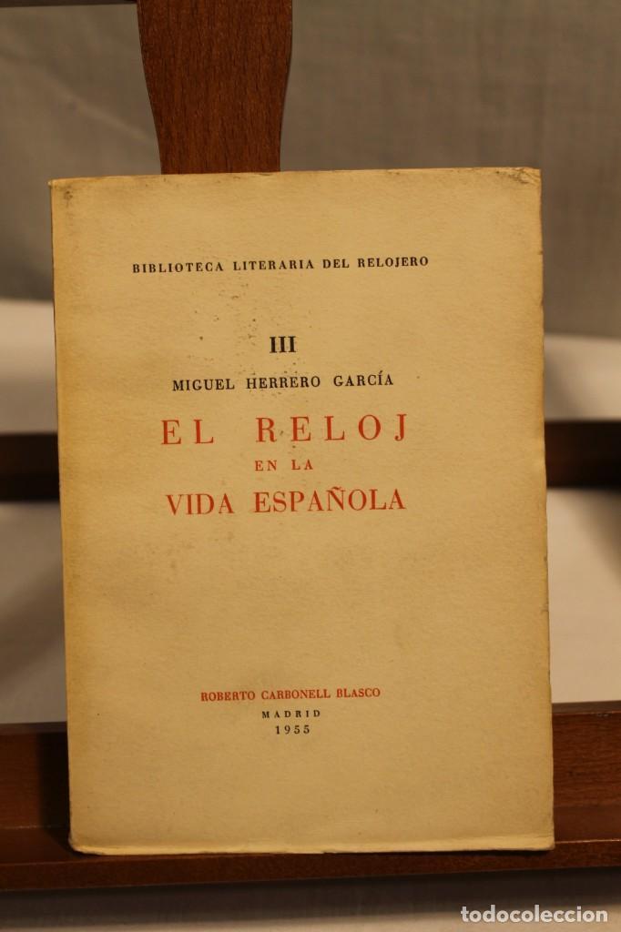 Libros antiguos: BIBILOTECA LITERARIA DEL RELOJERO, CINCO VOLÚMENES - Foto 5 - 169238268