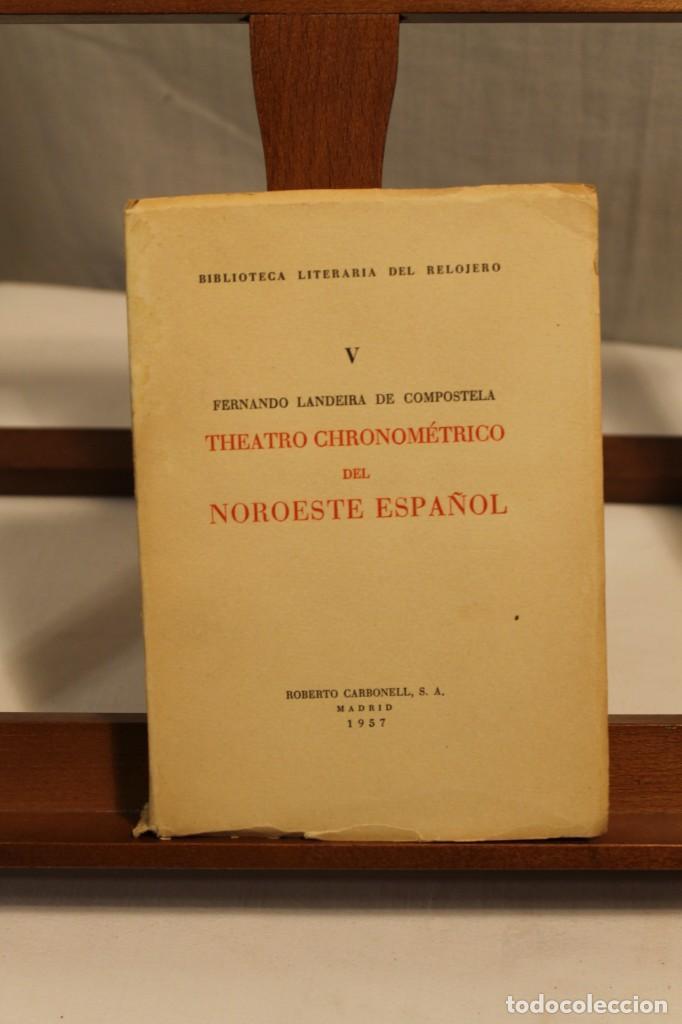 Libros antiguos: BIBILOTECA LITERARIA DEL RELOJERO, CINCO VOLÚMENES - Foto 7 - 169238268