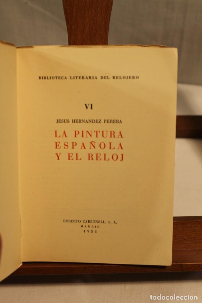 Libros antiguos: BIBILOTECA LITERARIA DEL RELOJERO, CINCO VOLÚMENES - Foto 10 - 169238268