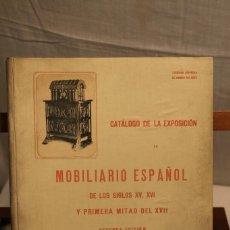 Libros antiguos: SOCIEDAD AMIGOS DEL ARTE, MOBILIARIO ESPAÑOL. Lote 169238992