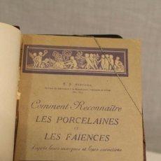 Libros antiguos: E.S. AUSCHER, LES PORCELAINES ET LES FAÏENCES, 1928. Lote 169311944