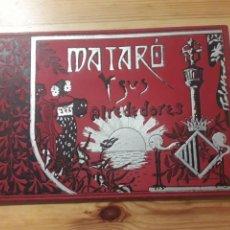 Libros antiguos: MATARO Y SUS ALREDEDORES 30 FOTOS DE LA CIUDAD Y ALREDEDORES CON ARGENTONA LLAVANERES LA ALIMENTICIA. Lote 169325098
