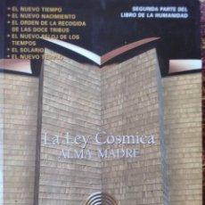 Libros antiguos: LA LEY CÓSMICA ALMA MADRE. Lote 169426808