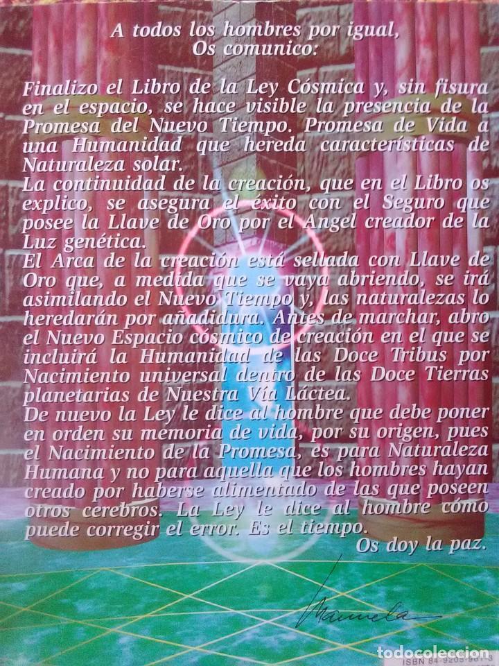 Libros antiguos: La Ley Cósmica Alma Madre - Foto 2 - 169426808