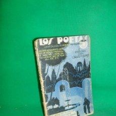 Libros antiguos: LOS POETAS, ANTOLOGÍA DE POETAS MADRILEÑOS, 1929. Lote 169438496