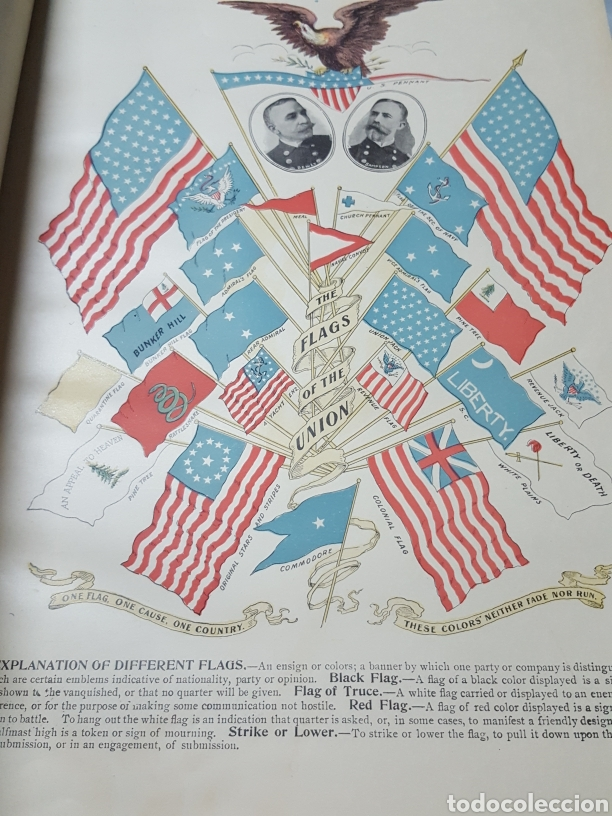 Libros antiguos: THE OFFICIAL AND PICTORICAL RECORD OF THE STORY OF AMERICAN EXPANSION 1904 Guerra Cuba, Filipinas... - Foto 3 - 169764125