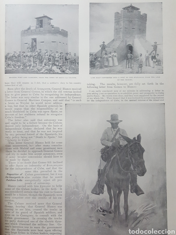Libros antiguos: THE OFFICIAL AND PICTORICAL RECORD OF THE STORY OF AMERICAN EXPANSION 1904 Guerra Cuba, Filipinas... - Foto 11 - 169764125