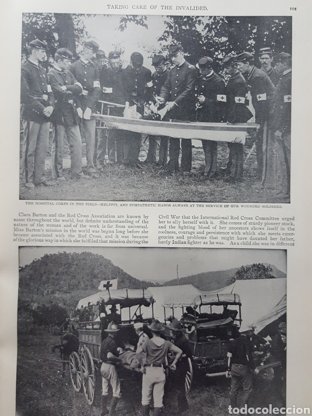 Libros antiguos: THE OFFICIAL AND PICTORICAL RECORD OF THE STORY OF AMERICAN EXPANSION 1904 Guerra Cuba, Filipinas... - Foto 14 - 169764125