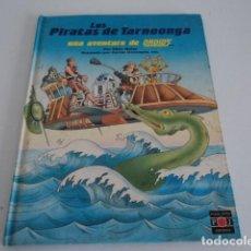 Libros antiguos: LIBRO JUVENIL LOS PIRATAS DE TARNOONGA AVENTURA DE LOS DROIDS STARS WARS PLAZA JOVEN. Lote 169805956
