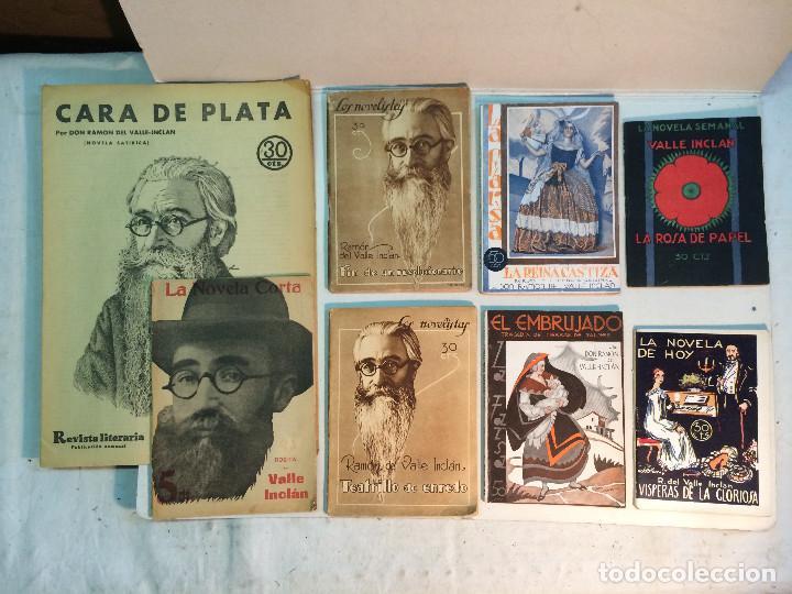 LOTE VALLE INCLÁN (8 PUBLICACIONES) (Libros antiguos (hasta 1936), raros y curiosos - Literatura - Narrativa - Otros)