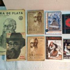 Libros antiguos: LOTE VALLE INCLÁN (8 PUBLICACIONES). Lote 169935956