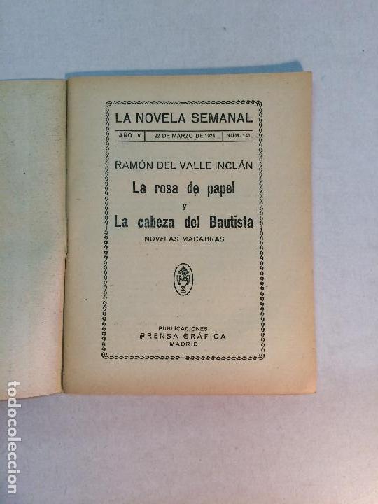 Libros antiguos: Lote Valle Inclán (8 publicaciones) - Foto 6 - 169935956