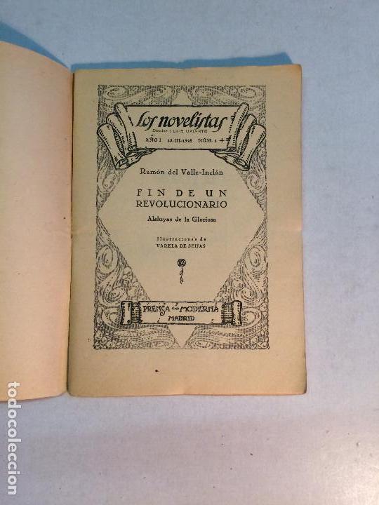 Libros antiguos: Lote Valle Inclán (8 publicaciones) - Foto 8 - 169935956