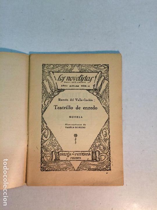 Libros antiguos: Lote Valle Inclán (8 publicaciones) - Foto 10 - 169935956