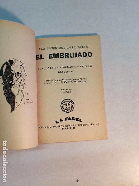 Libros antiguos: Lote Valle Inclán (8 publicaciones) - Foto 14 - 169935956