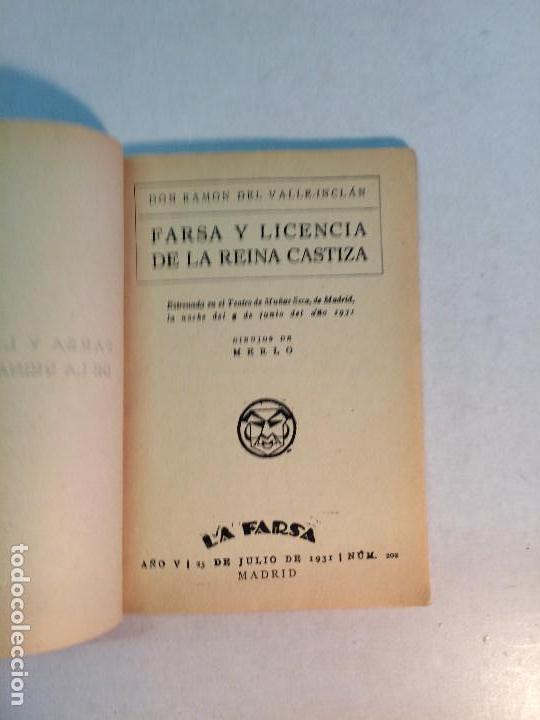 Libros antiguos: Lote Valle Inclán (8 publicaciones) - Foto 16 - 169935956