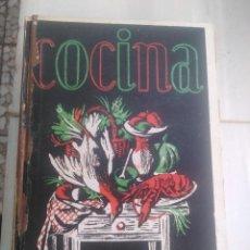 Libros antiguos: LIBRO DE COCINA ORIGINAL 1957 SECCIÓN FEMENINA DE FET Y DE LA JONS. Lote 169956992