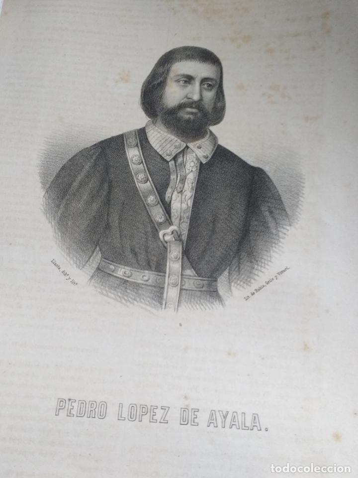 Libros antiguos: ALAVA, 1868 Jose Bisso, Crónica General de España, HISTORIA ILUSTRADA DE LA PROVINCIA. CUADERNO 76 - Foto 4 - 169966072