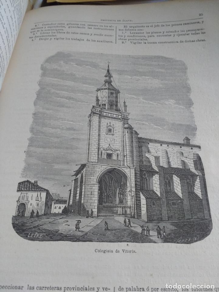 Libros antiguos: ALAVA, 1868 Jose Bisso, Crónica General de España, HISTORIA ILUSTRADA DE LA PROVINCIA. CUADERNO 76 - Foto 5 - 169966072