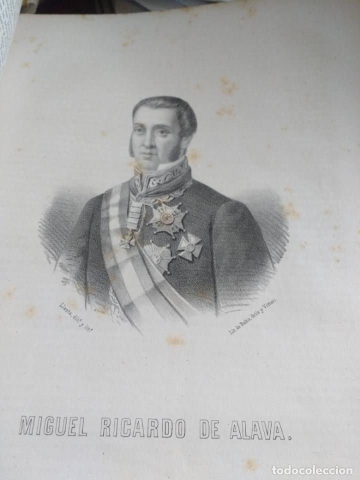 Libros antiguos: ALAVA, 1868 Jose Bisso, Crónica General de España, HISTORIA ILUSTRADA DE LA PROVINCIA. CUADERNO 76 - Foto 6 - 169966072