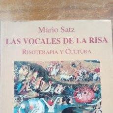 Libros antiguos: LAS VOCALES DE LA RISA. Lote 170021680
