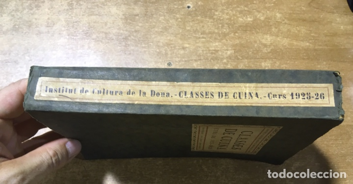 Libros antiguos: CLASSES DE CUINA - CURS DE 1925 - 1926 - JOSEP RONDISSONI - INSTITUT CULTURA POPULAR DONA - Foto 2 - 170077306