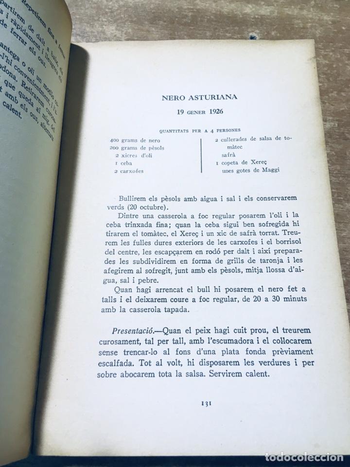 Libros antiguos: CLASSES DE CUINA - CURS DE 1925 - 1926 - JOSEP RONDISSONI - INSTITUT CULTURA POPULAR DONA - Foto 5 - 170077306